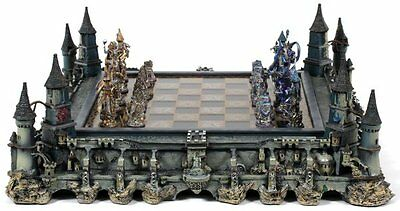 Franklin Mint Chess Set Guardians Of The Fortress Michael Whelan