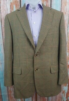 Brooks Brothers Madison 40S Houndstooth 2 Button 100 % Wool  Blazer