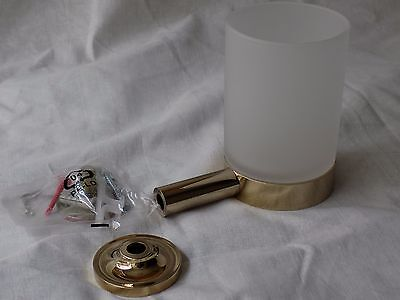 Kohler 14447-AF Purist Tumbler and Holder in Vibrant French Gold Brass finish