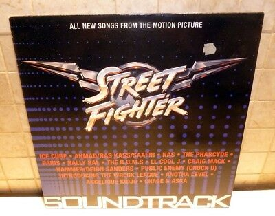 Street Fighter Compilation Soundtrack - 1995 Vinyl Double Lp
