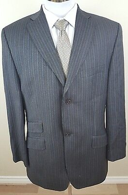 Ted Baker Endurance mens blazer size 40R wool pinstriped suit jacket