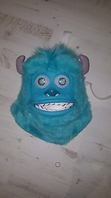 Monsters Inc. University Sulley Monster Mask Dress Up Cosplay Toy Disney Pixar