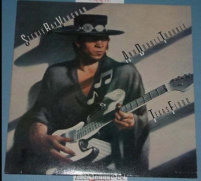 Stevie Ray Vaughan And Double Trouble Texas Flood VINYL Album Record LP