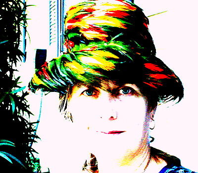 Vintage THANKSGIVING Murriel COLORFUL Feather Hat Fedora 60s Perfect Velvet bow