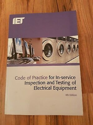 Code of practice In service inspection and testing (PAT)