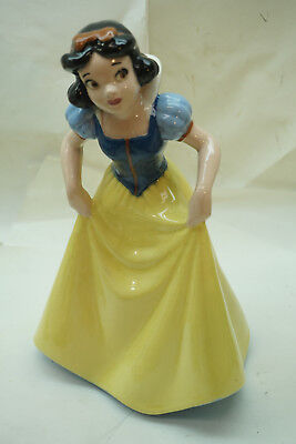 VINTAGE DISNEY FIGURINE SNOW WHITE AMERICAN POTTERY SHAW USA FIGURE STATUE 1940s