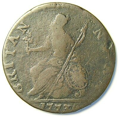 *** Authentic American Revolutionary War Coin 1773 Scarcer Date (73174CVS In#