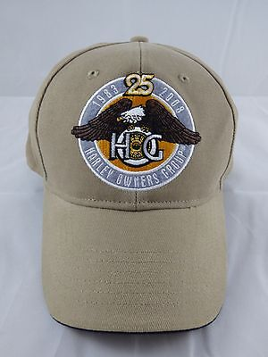 Harley Owners Group HOG 25th Anniversary Cap