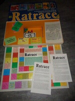 Ratrace Game by Waddingtons House of Games - Complete