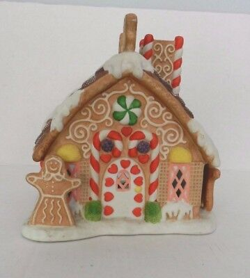Partylite Christmas Tealight Gingerbread House P7304 RETIRED