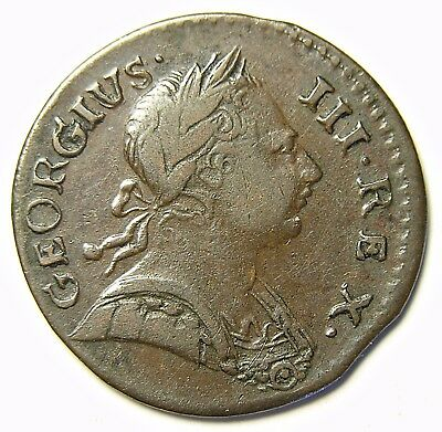 *** Authentic American Revolutionary War Coin 1773 Scarcer Date (73158CVS In#