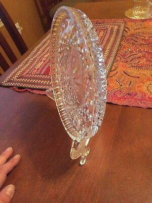 Waterford Crystal Round Cake Platter Plate