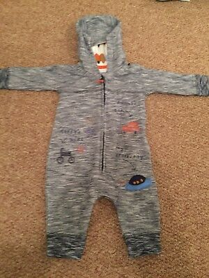 Next Baby Boys All In One Coat 0-3
