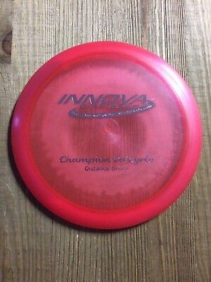 Innova Champion Valkyrie 150g PFN OOP Patent # Pink with Silver Foil Stamp