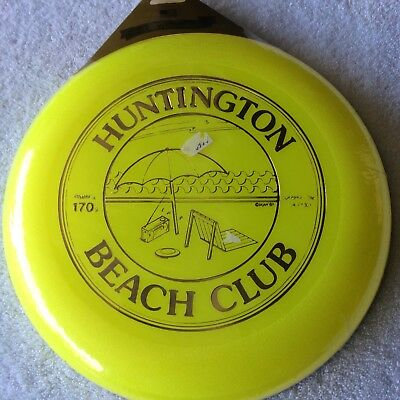 Huntington Beach Club City Frisbee California Ca Hb Surf toys