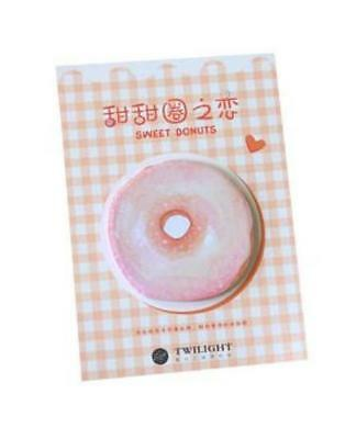 'Sweet Donuts' RED Sticky Notes Pack