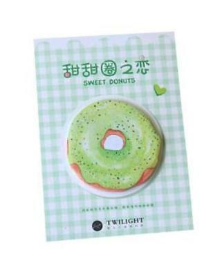 'Sweet Donuts' GREEN Sticky Notes Pack