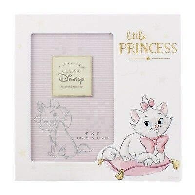 Disney Marie Little Princess Baby Photo Frame Gift Pink
