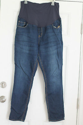 VERY-EUC Old Navy Skinny leg, full panel maternity jeans Size 18