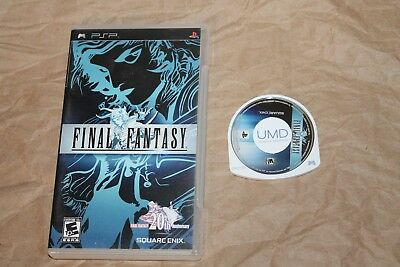USED Final Fantasy Sony PSP  Canadian Seller!!