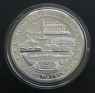 Washington D.C. Large Size Proof Medal with Great Seal of United States Token