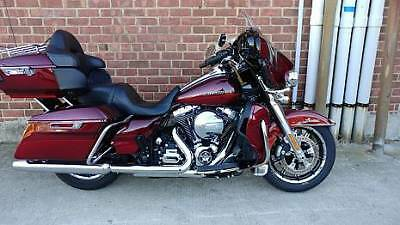 2016 Harley-Davidson Touring  2016 Harley Davidson Ultra Classic Limited Low Only 3K Miles Mysterious Red