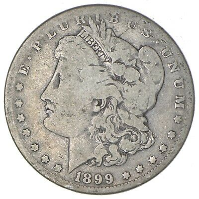 New Orleans Minted - Over 100 Years Old - 1899-O Morgan Silver Dollar *168