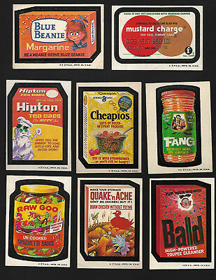 1973 Wacky Packages 4th Series 4 Complete Set 30/30