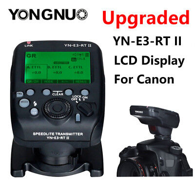 Yongnuo YN-E3-RT II TTL Speedlite Wireless Transmitter for Canon as ST-E3-RT US