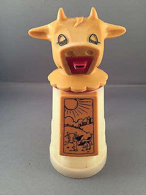 Vintage Whirley Industries Patent Pending Creamer Rare Sun Cow Farm Image