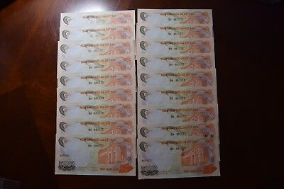 LOT of 18 Vietnam South, 500 dong Notes, Fine-XF