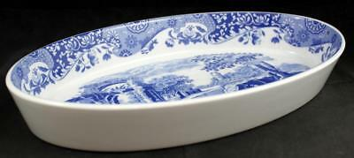 Spode BLUE ITALIAN Oval Vegetable Bowl C1816 A+ CONDITION