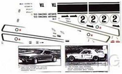 Fred Cady Decal #37 To Do The 68 Mustang Stripes & #1 or #2 Team Mustangs