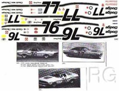 Fred Cady Decal #285 To Do The 1970 Dodge Challenger Trans-AM