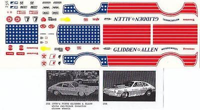 Fred Cady Decal #256 To Do The 1970`s Pinto Glidden & Allen