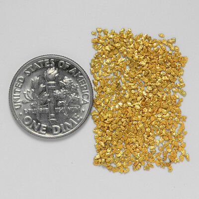 0.6804 Gram Alaskan Natural Gold Nuggets - (#21101) - Hand-Picked Quality