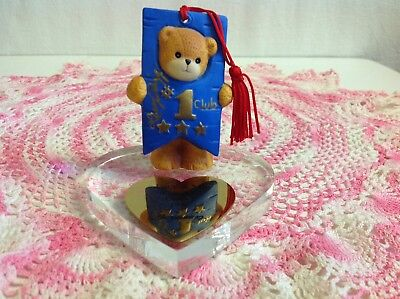 """Lucy And Me """"club Bear Of The Year For 1996"""" Lucy Rigg """"hand Signed"""" Enesco"""