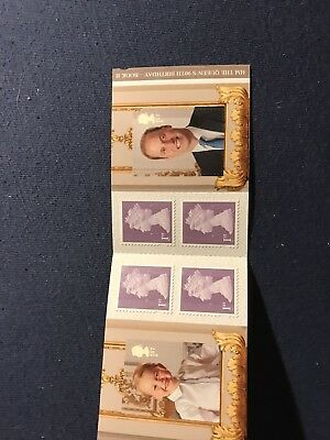 2016 QUEEN'S 90th BIRTHDAY - STAMP BOOKLET PM51