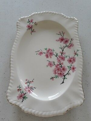 Vintage sandwich plate ..Johnson Bros made in England