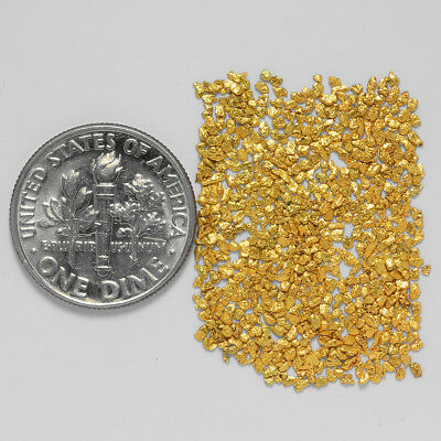 0.6650 Gram Alaskan Natural Gold Nuggets - (#21102) - Hand-Picked Quality