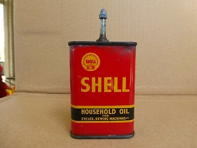 Australian Shell Household Handy Oil Tin