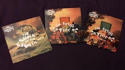 3 Oasis Seven Inch Vinyl Single Records from 2008 all in near mint condition