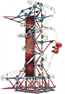 K'NEX Thrill Rides Web Weaver Roller Coaster Building Set for Ages 9 and Up, Con