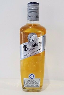 Bundaberg Rum Distillers No. 3, Very Old Label Design