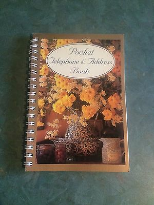 Pocket Telephone And Address Book