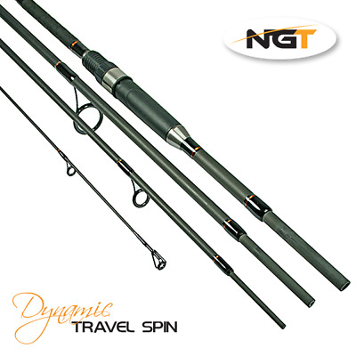 NGT Dynamic Travel Spin - 8ft, 4pc Carbon Rod