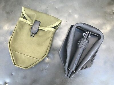 US Army Entrenching Tool E-Tool Genuine Military Issue Shovel Spaten OD Green