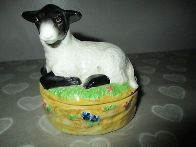 James Herriot Border Fine Arts Lamb Mint Sauce Pot A0174 2004