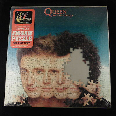 """QUEEN The Miracle Jigsaw Puzzle Box Still Sealed 12"""" x 12"""" complete"""