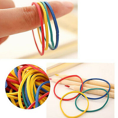 100x Colorful Rubber Bands for Tattoo Machine Gun Needles Supplies Wholesale